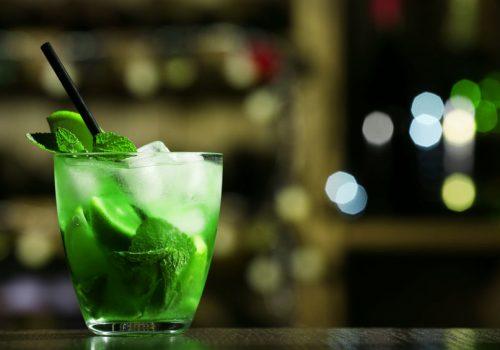 Un analcolico alla menta, il green light